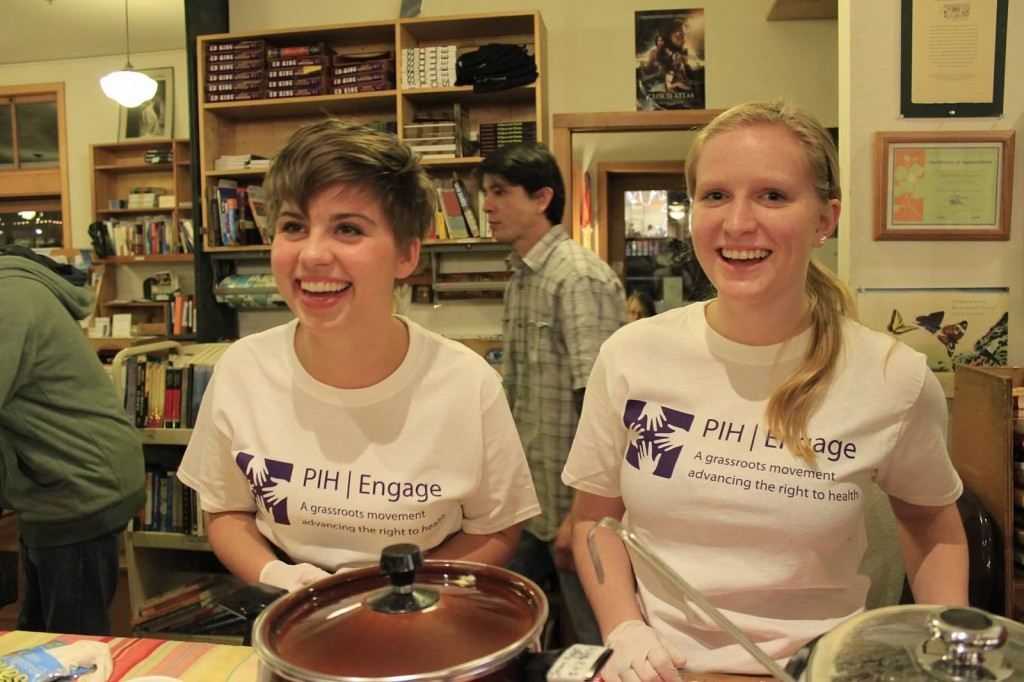 "The community on Bainbridge Island, Washington hosted a ""Soup Night"" at a local bookstore with PIH guest speaker Jon Lascher."