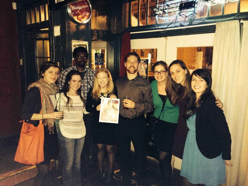 The Washington D. C. group held a World Cancer Day happy hour.
